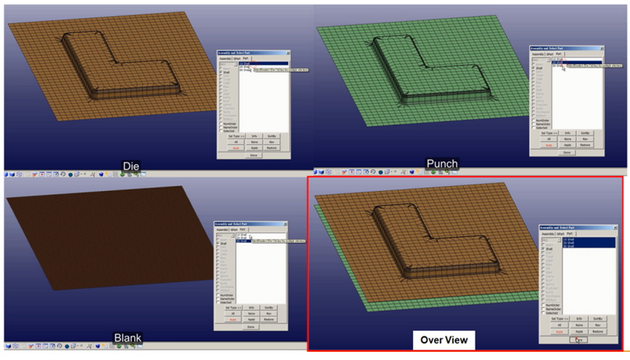 Integrating LS-DYNA Draping Analysis in Moldex3D for Better Fabric
